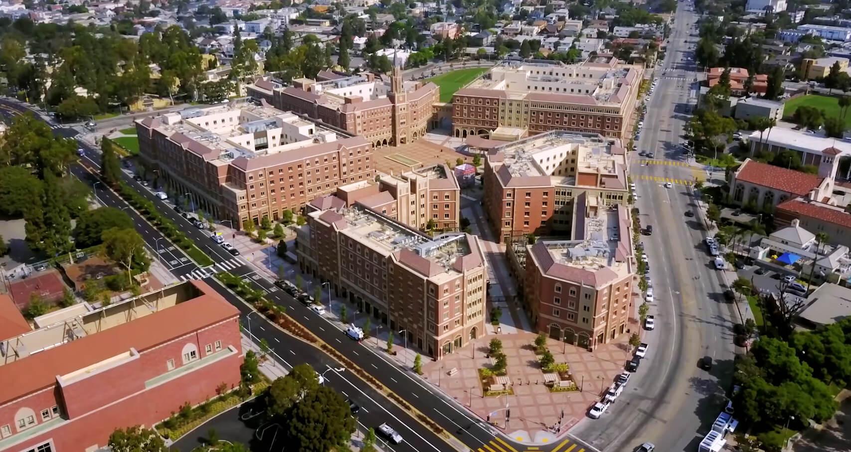 Maps & Parking – USC Village
